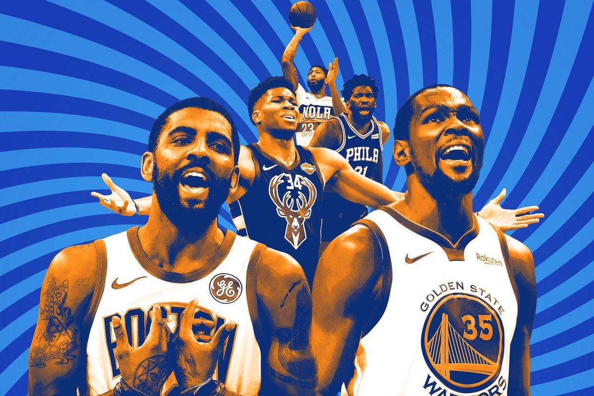 Kevin Durant dan Kyrie Irving Bergabung Brooklyn Nets