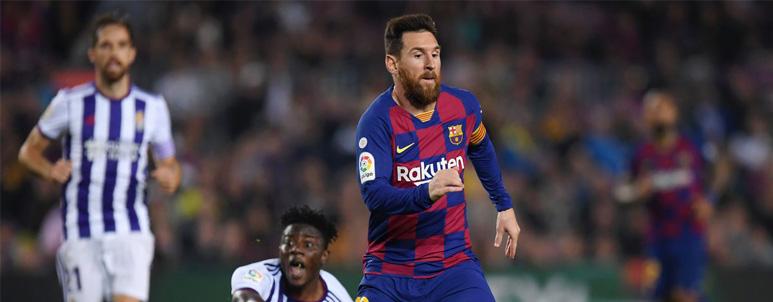 Barcelona versus Real Valladolid - IDNSPORTSLIGA.COM