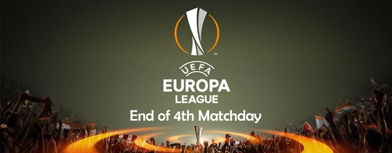 Hasil Rangkuman Lengkap Matchday Empat Liga Europa - IDNSPORTSLIGA.COM