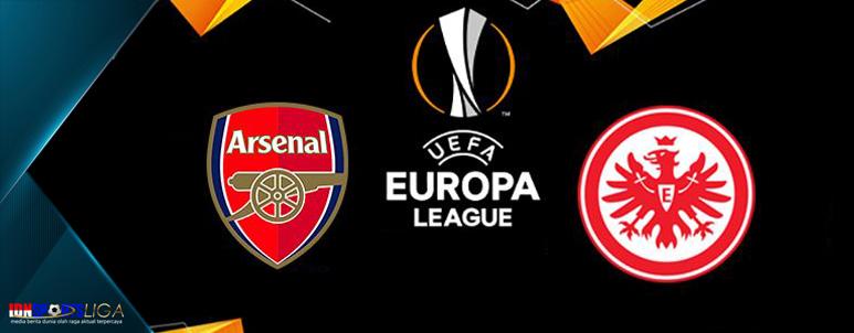 liga eropa - grup f - arsenal takluk kontra frankfurt - www.idnsportsliga.com