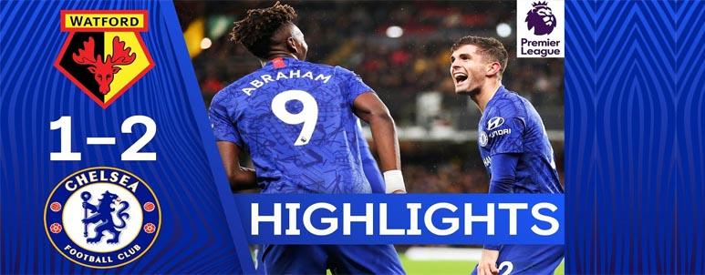 Chelsea sukses petik kemenangan atas Watford di EPL