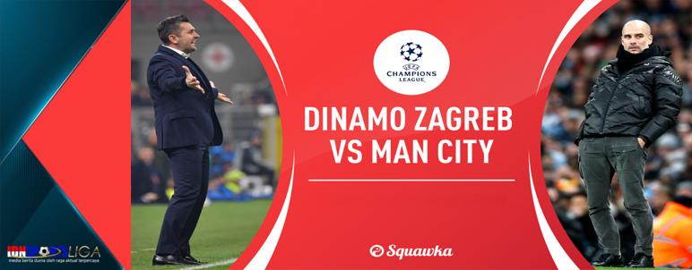 Dinamo Zagreb versus Manchester City - www.idnsportsliga.com