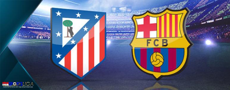 atletico madrid vs barcelona - la liga spanyol - www.idnsportsliga.com