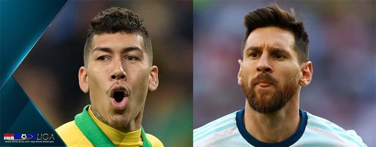 liga uji coba argentina vs brasil - idnsportsliga.com