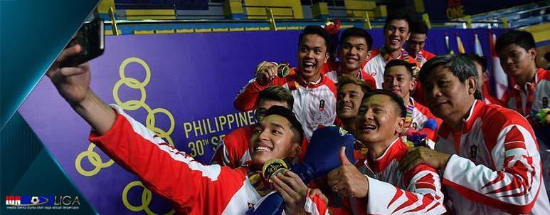 tambah 15 medali emas lagi, kontingen indonesia bertahan - www.idnsportsliga.com