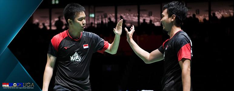Hendra Setiawan dan Mohamad Ahsan - the daddies - www.idnsportsliga.com