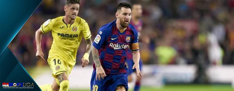 Tekuk Villarreal, Barcelona Perpendek Jarak dengan Real Madrid