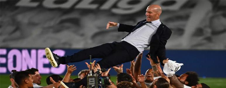 zidane - pelatih terbaik