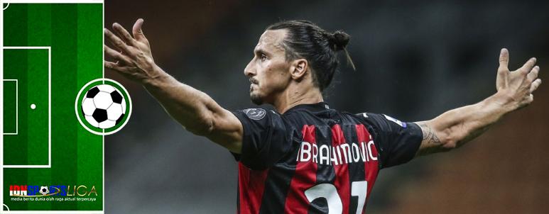 Milan Bantai Crotone, Ibrahimovic Torehkan Gol ke-500