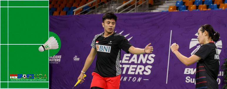 Indonesia Loloskan 2 Wakil ke Semi Final Orleans Masters 2021