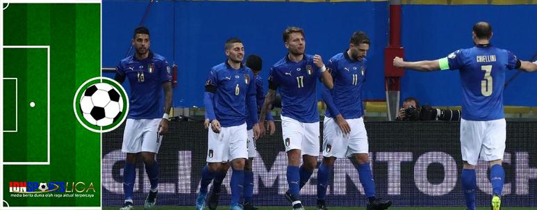 Tim Italia Kembali Petik Tiga Poin di Kualifikasi Piala Dunia 2022