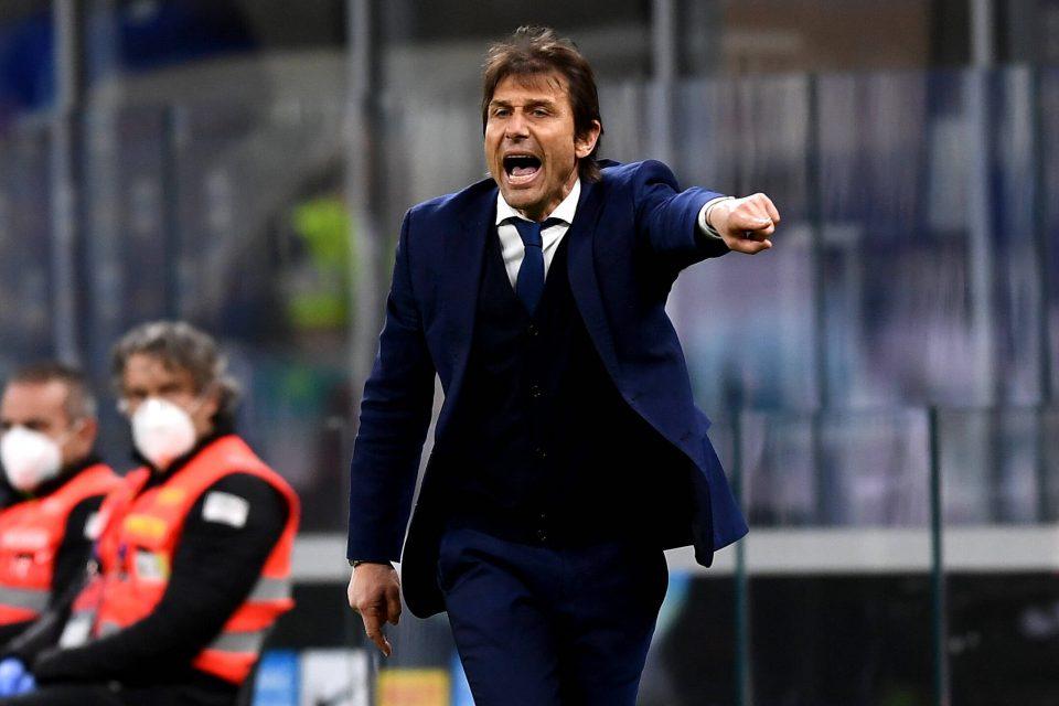 Cekcok Antara Conte dan Lautaro di Laga Inter Kontra AS Roma