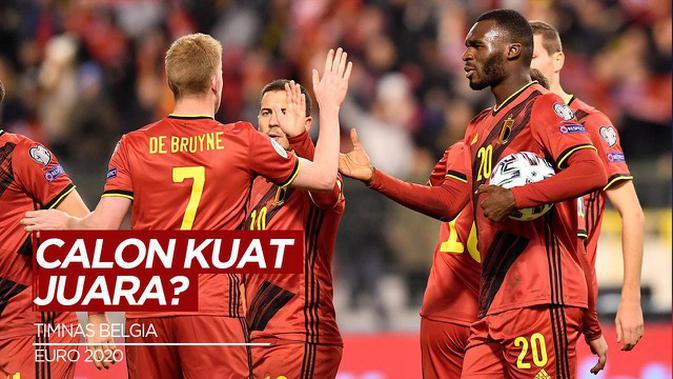 Awal Manis Belgia di EURO 2020, Tekuk Rusia 3-0
