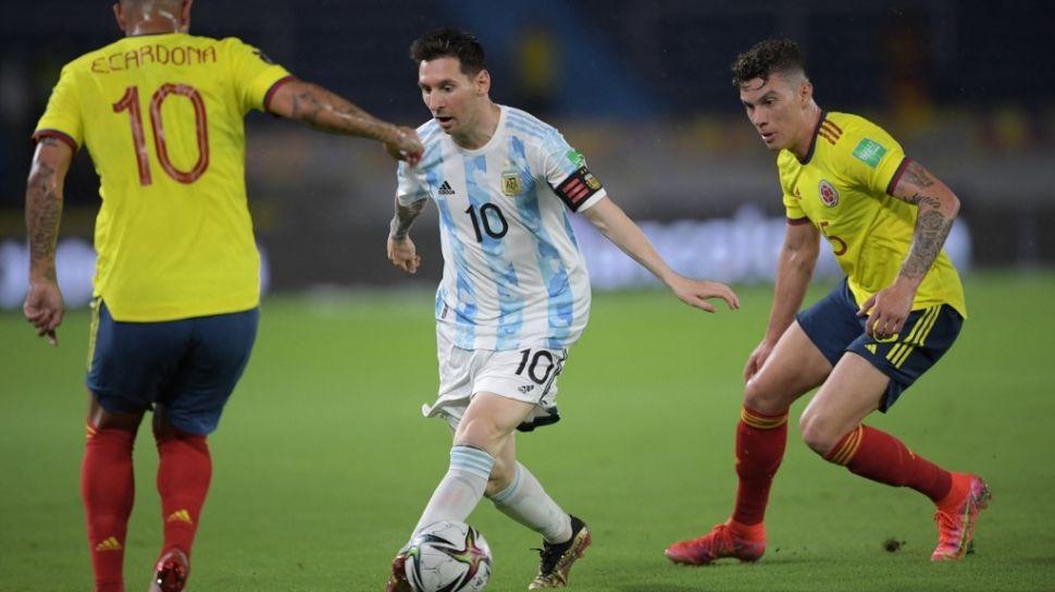 Argentina Diimbangi Kolombia di Kualifikasi Piala Dunia 2022