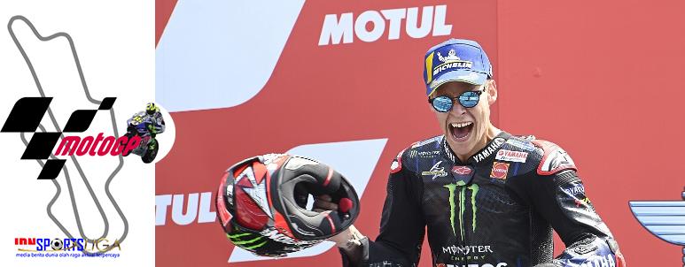 Juara MotoGP Belanda, Quartararo Kian Kokoh di Puncak Klasemen