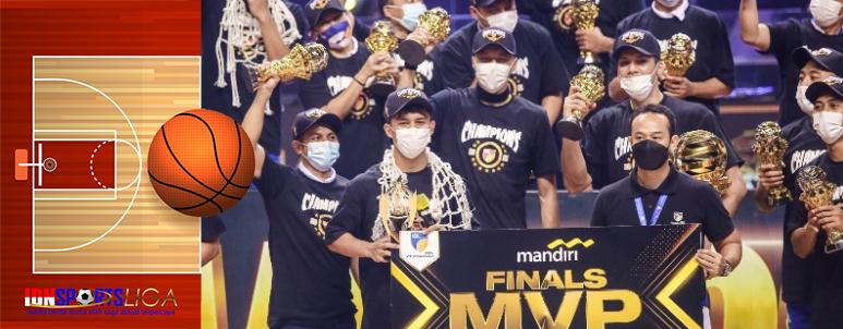 Tumbangkan Pelita Jaya di Game Ketiga, Satria Muda Juara IBL 2021