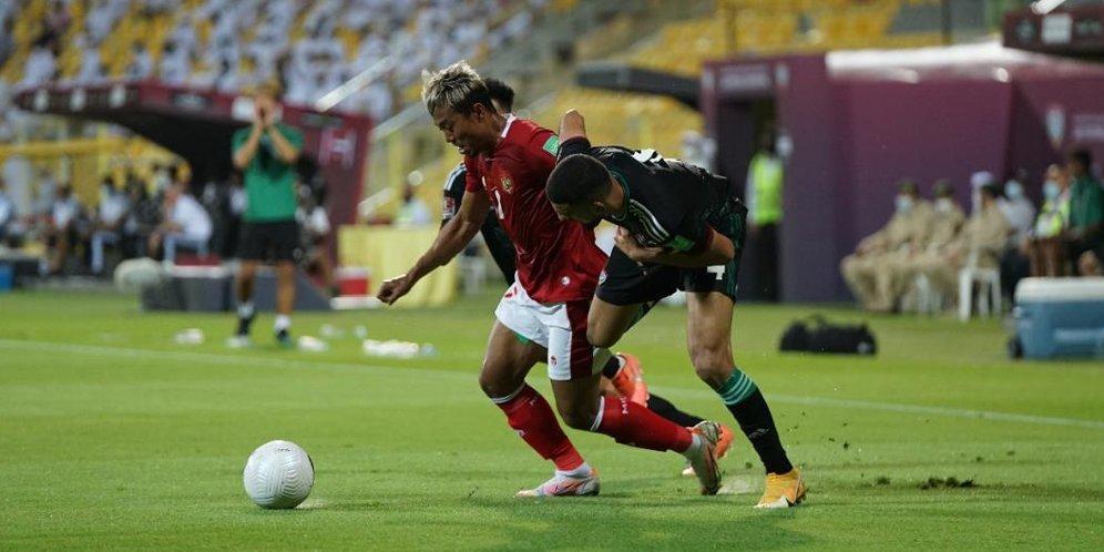 Indonesia Menyerah 0-5 dari UEA di Kualifikasi Piala Dunia 2022