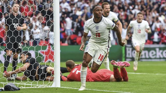 Sterling dan Kane Cetak Gol, Inggris Sikat Jerman di 16 Besar EURO 2020