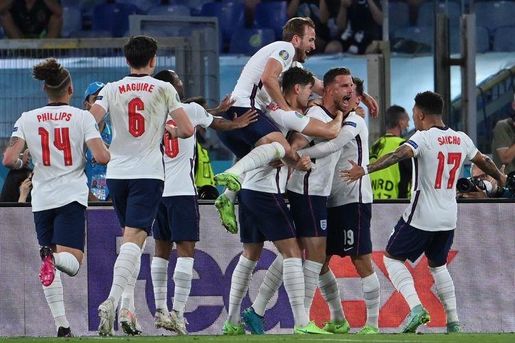 Bungkam Denmark, Inggris Hadapi Italia di Final EURO 2020