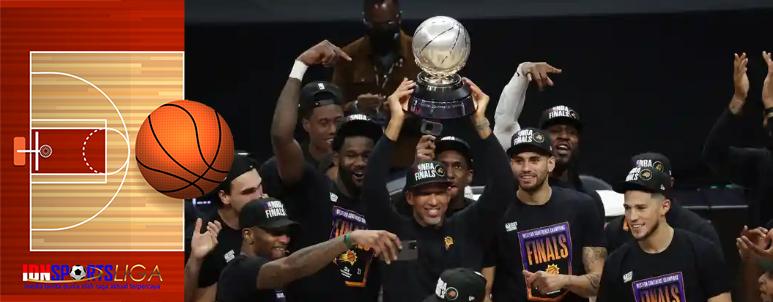 Singkirkan LA Cllipers, Phoenix Suns ke Final NBA 2021