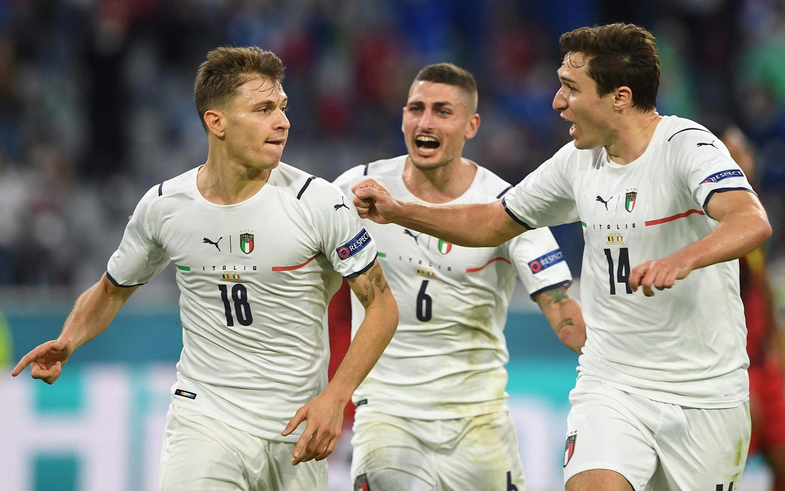 Singkirkan Belgia, Italia ke Semi Final EURO 2020