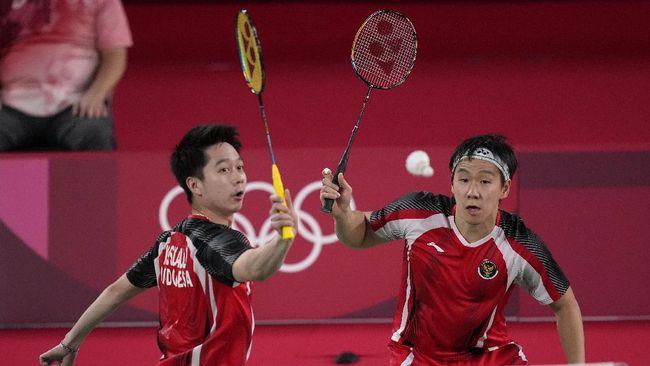 Hadapi Pasangan Inggris, Minions Menang Mudah di Laga Perdana Olimpiade Tokyo