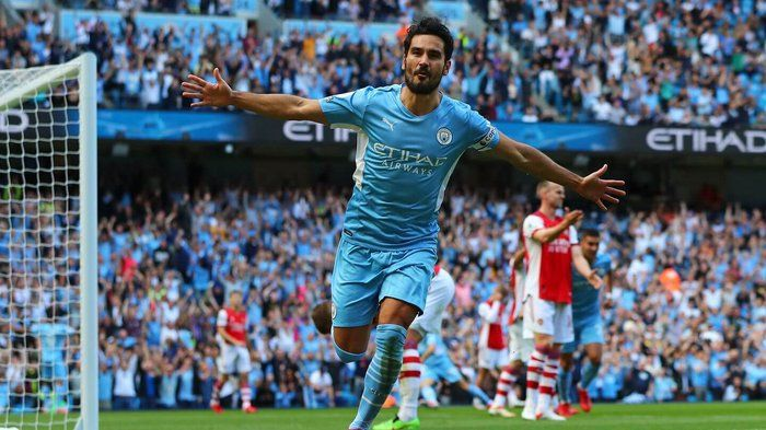 Manchester City Pesta 5 Gol ke Gawang Arsenal