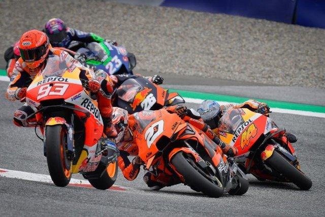 Ungkapan Kekesalan Espargaro pada Marquez di MotoGP Styria 2021