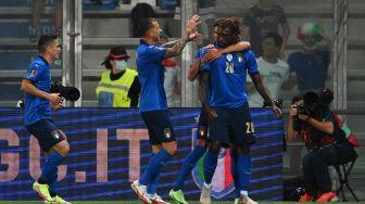 Italia Pesta 5 Gol ke Gawang Lithuania