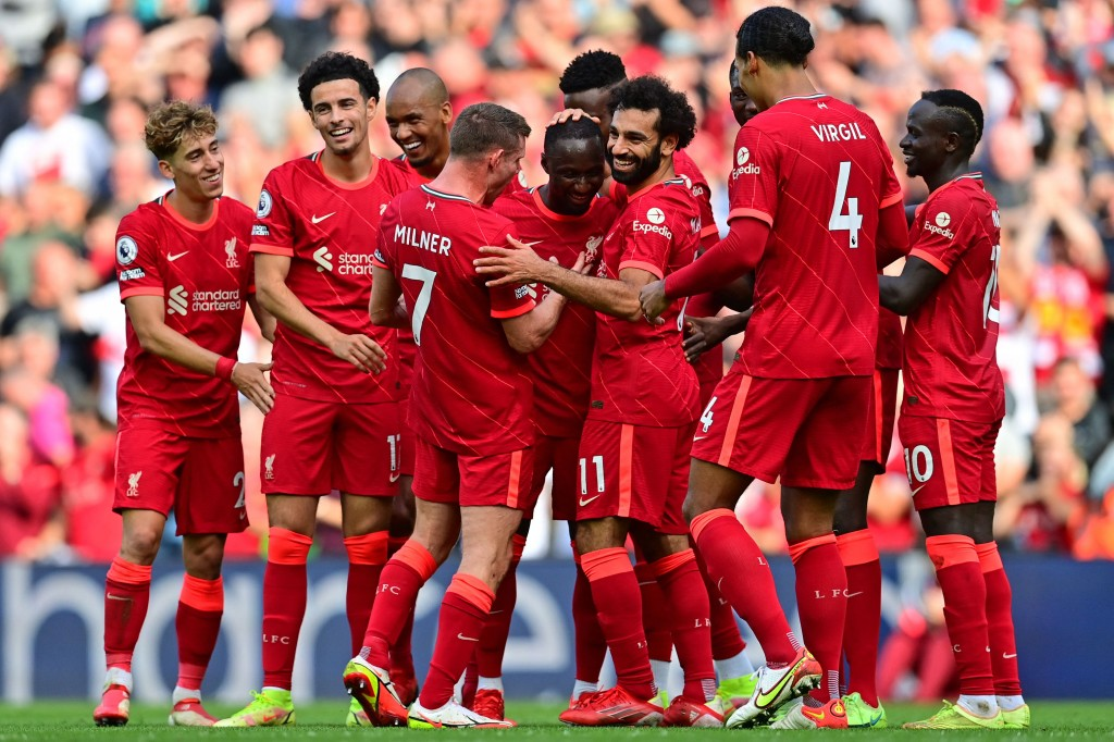 Liverpool Bungkam Crystal Palace 3-0