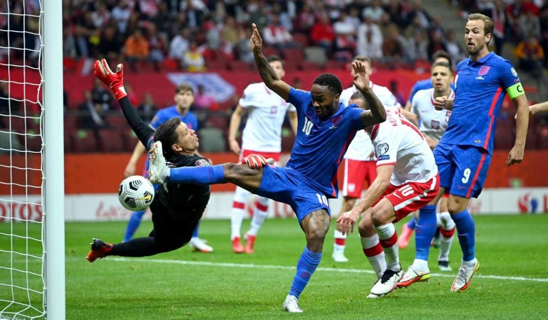 Inggris Diimbangi Polandia di Kualifikasi Piala Dunia 2022
