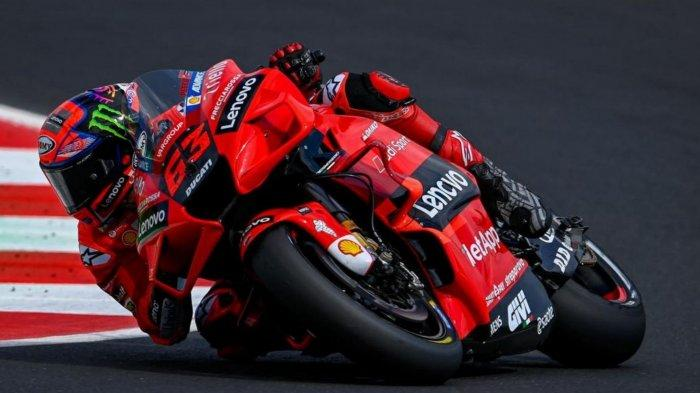 Francesco Bagnaia Juara MotoGP San Marino 2021
